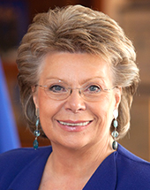 Viviane Reding official portraits